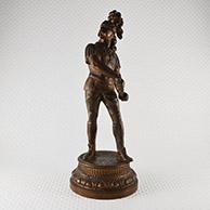 Escultura Antiga - Guerreiro Gaulês com o seu Gládio