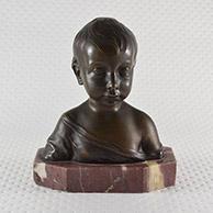 Escultura Antiga - A Criança Triste
