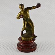 Escultura Antiga - Desporto - La Boxe - O Pugilismo - Um Pugilis