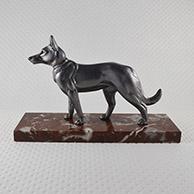 Escultura Antiga - Cão - Cão-Lobo