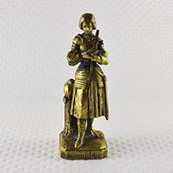 Escultura Antiga - Joana d'Arc e a sua Espada