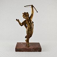 Escultura Antiga - Putto - Cupido com Arco