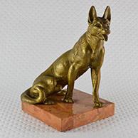 Scultura Antica - Lupo - Canis Lupus
