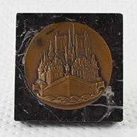 Medalha Antiga - Paris - Ile de la Cité - Notre-Dame de Paris