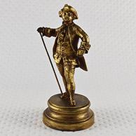 Escultura Antiga - Jovem Rapaz da Nobreza Francesa - Século XVIII