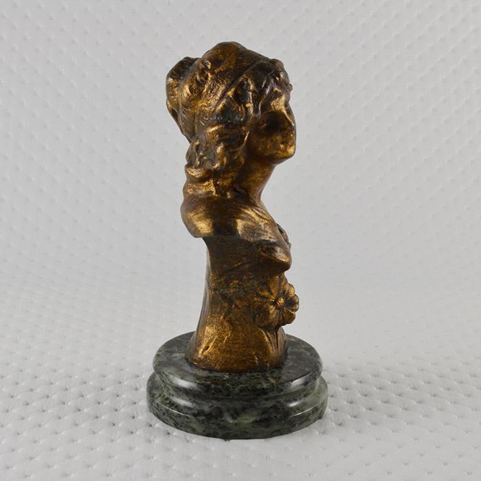 Sculture antiche scultura antica fiori busto di for Sculture di fiori
