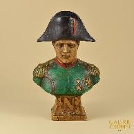 Antiek Beeld - Buste van Napoleon Bonaparte