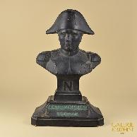 Escultura Antiga - Decoração de Bar - Busto de Napoleão Bonaparte