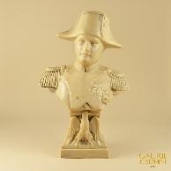 Escultura Antiga - Busto de Napoleão Bonaparte com Aguia Imperial