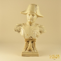 Antique Sculpture - Bust of Napoleon Bonaparte with Imperial Eagle