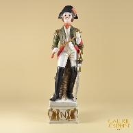 Antica Porcellana - Soldato Napoleonico - Ufficiale - Cavalleria