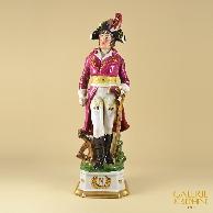 Antica Porcellana - Maresciallo dell\'Impero - Generale Lannes