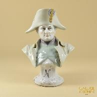 Antica Porcellana - Capodimonte - Busto di Napoleone Bonaparte