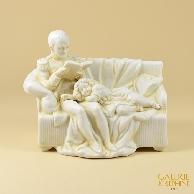 Scultura Antica - Napoleone I ed suo Figlio, il Re di Roma