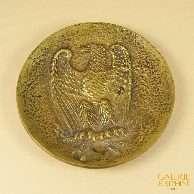 Antique Coin Tray - First French Empire - Imperial Eagle